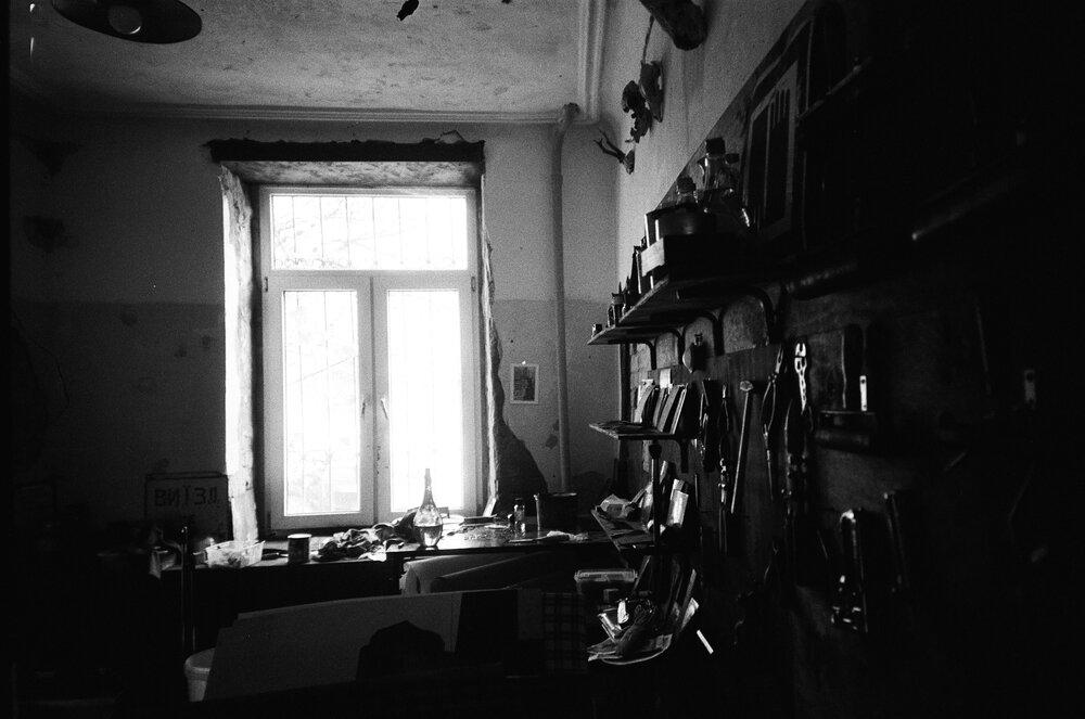 Майстерня на Коцюбинського. Автор: Назар Слєпченко