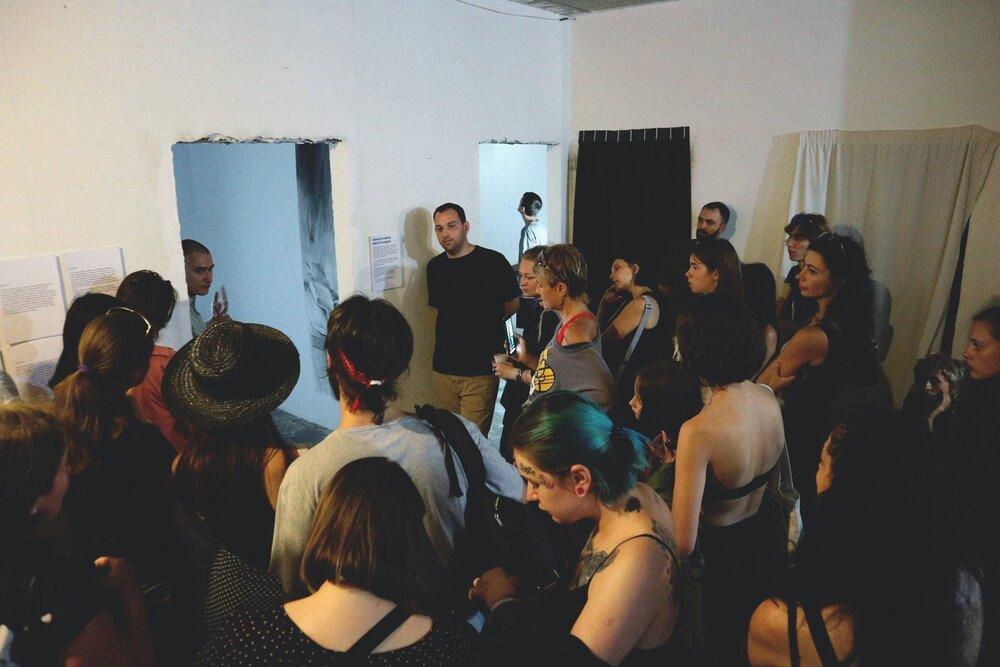 Виставка «Черные Книги» Нікіти Кадана, галерея Ночь