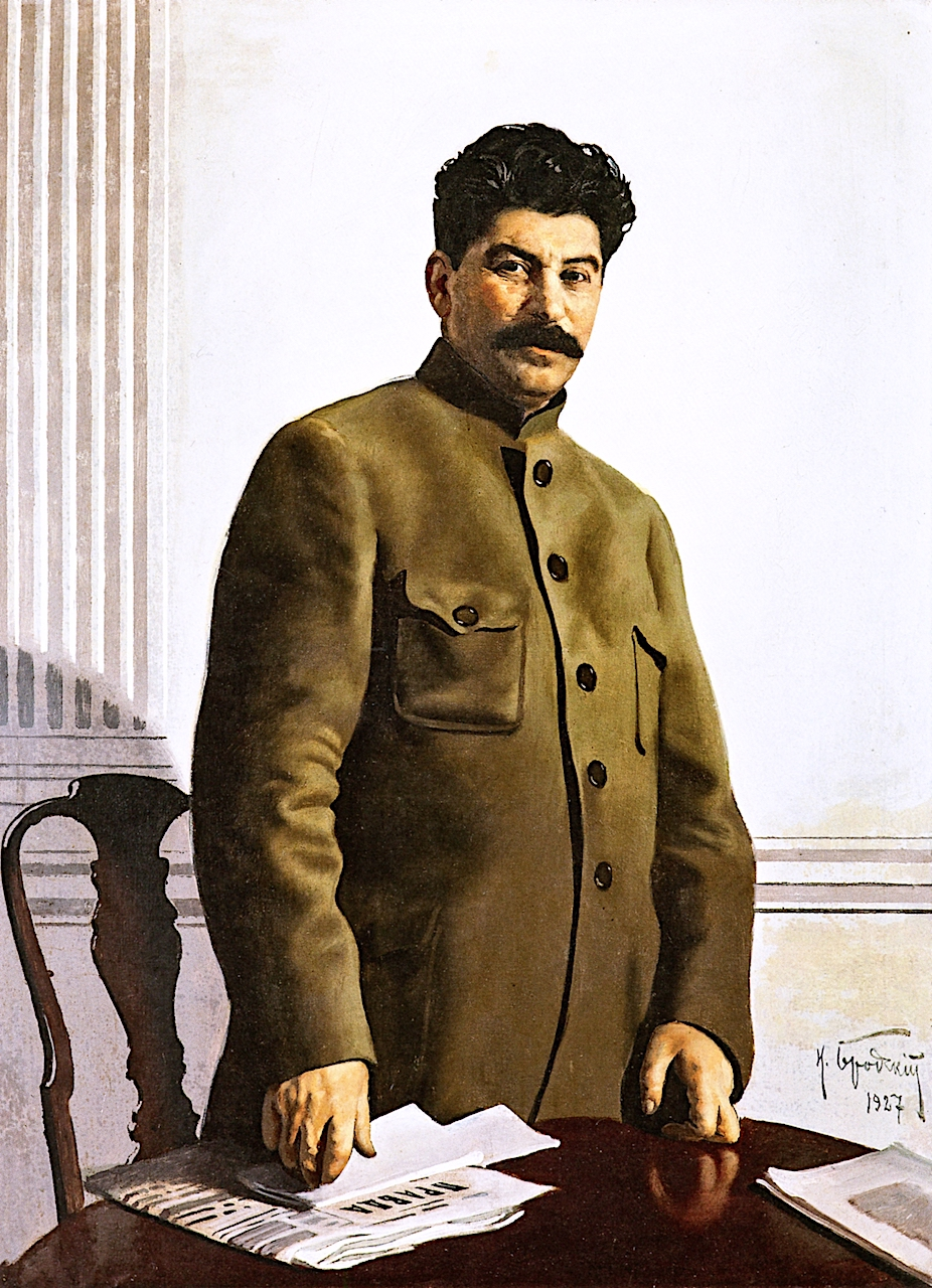 Портрет Йосипа Сталіна. Ісаак Бродський, 1927