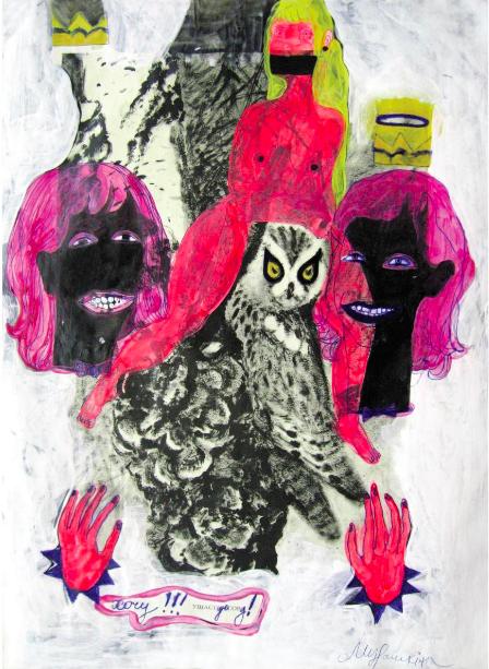 Нiна Мурашкiна. «Хочу ушастую сову!», 2009