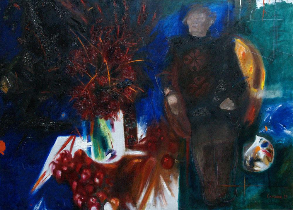 Портрет Яблонської, 1988