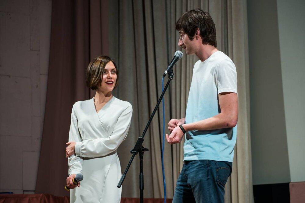 Надія Парфан та Ілько Гладштейн, фестиваль «86», 2018. Світлина: Facebook