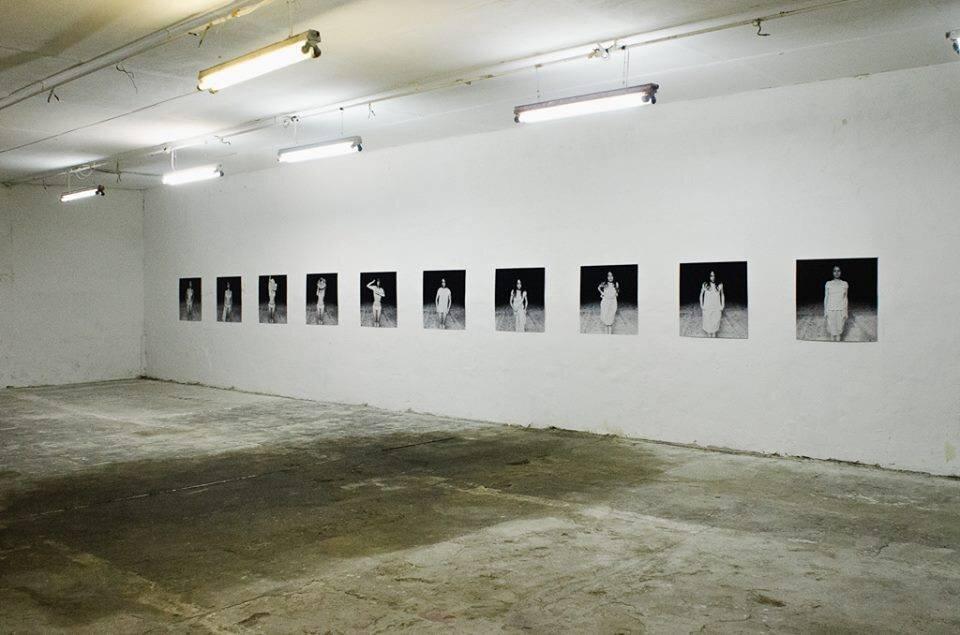 Виставка REVERSUS, Олексій Салманов, Closer, 2014. Світлина: Костянтин Стрілець