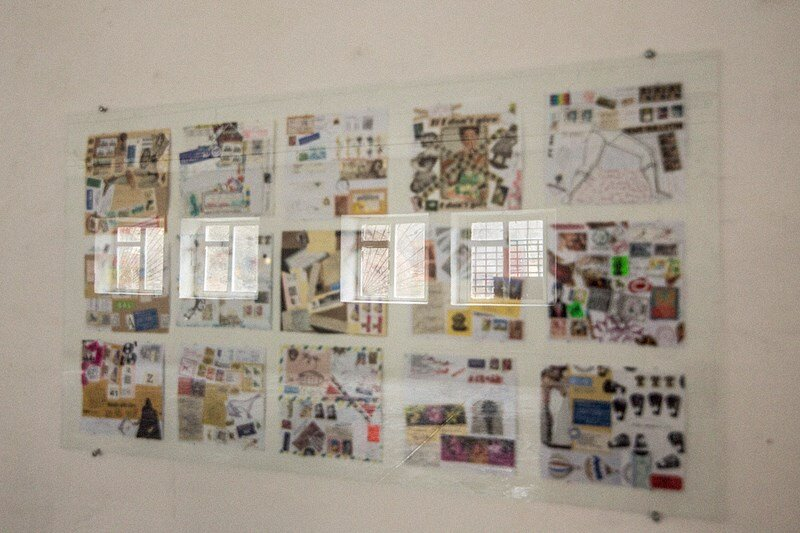 Виставка колекції та робіт Любомира Тимківа MailArt, 2014, Сloser. Світлина: Julia Weber