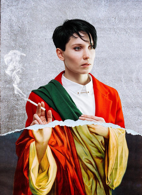 Анна Бекерська. З серії «Автопортрет»