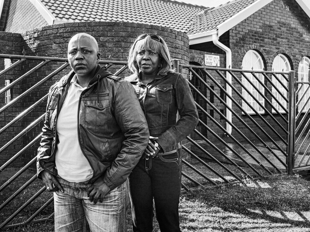 Колишня пара біля будинку, дена них вчинили напад