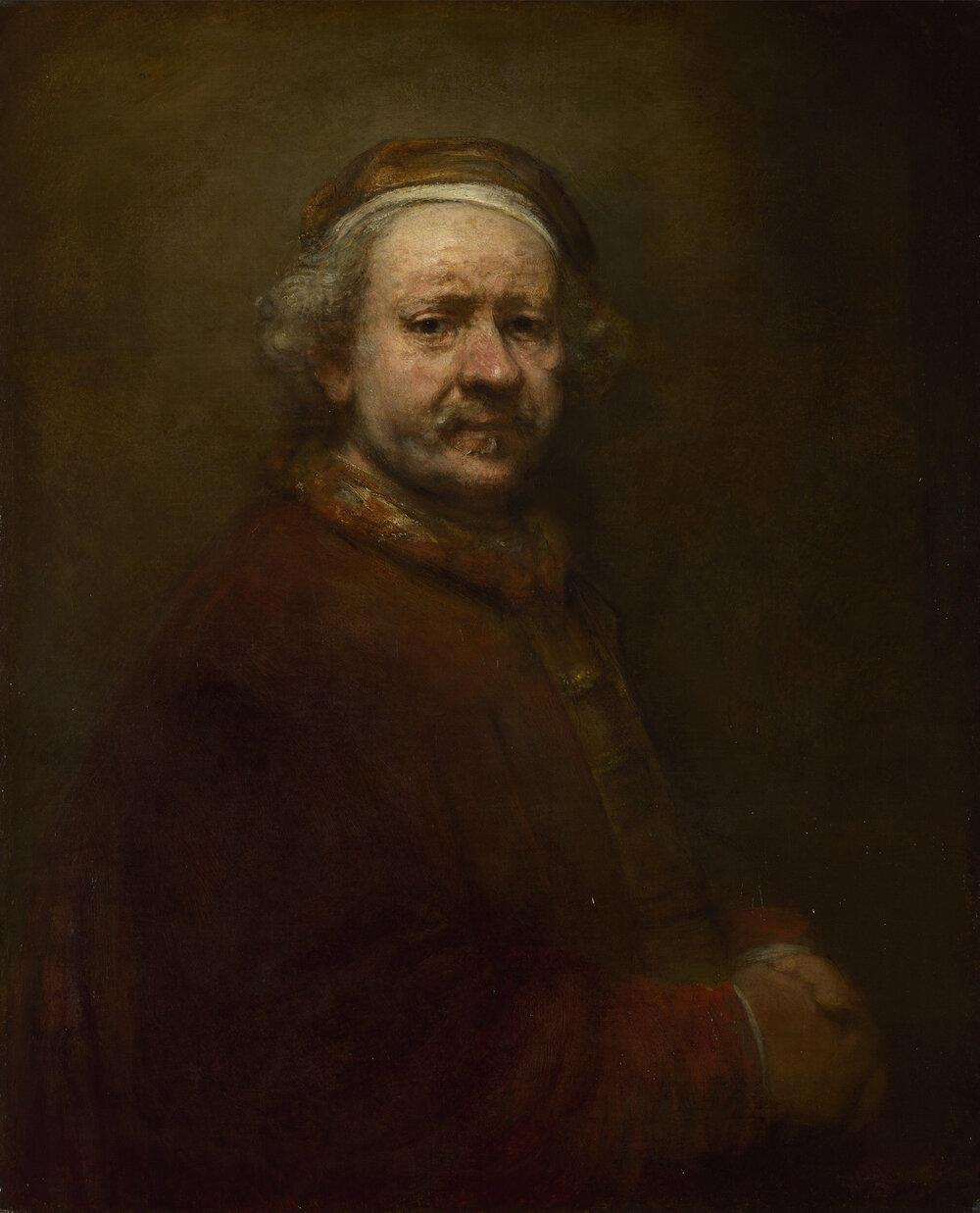 Автопортрет, Рембрандт ван Рей, 1669 ©WIKIMEDIA COMMONS