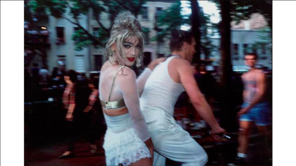 Jimmy Paulette on David's Bike, 1991 ©artsy