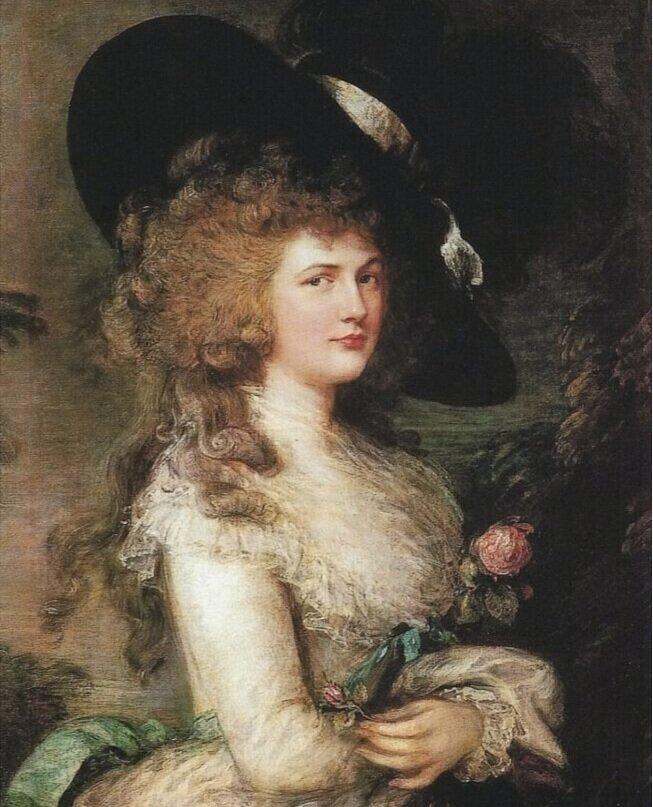 Lady Georgiana Cavendish, Томас Гейнсборо