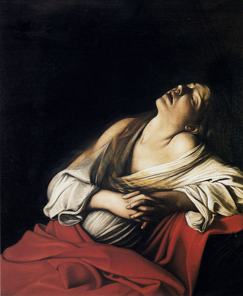 Magdalene in Ecstasy, Караваджо, 1610