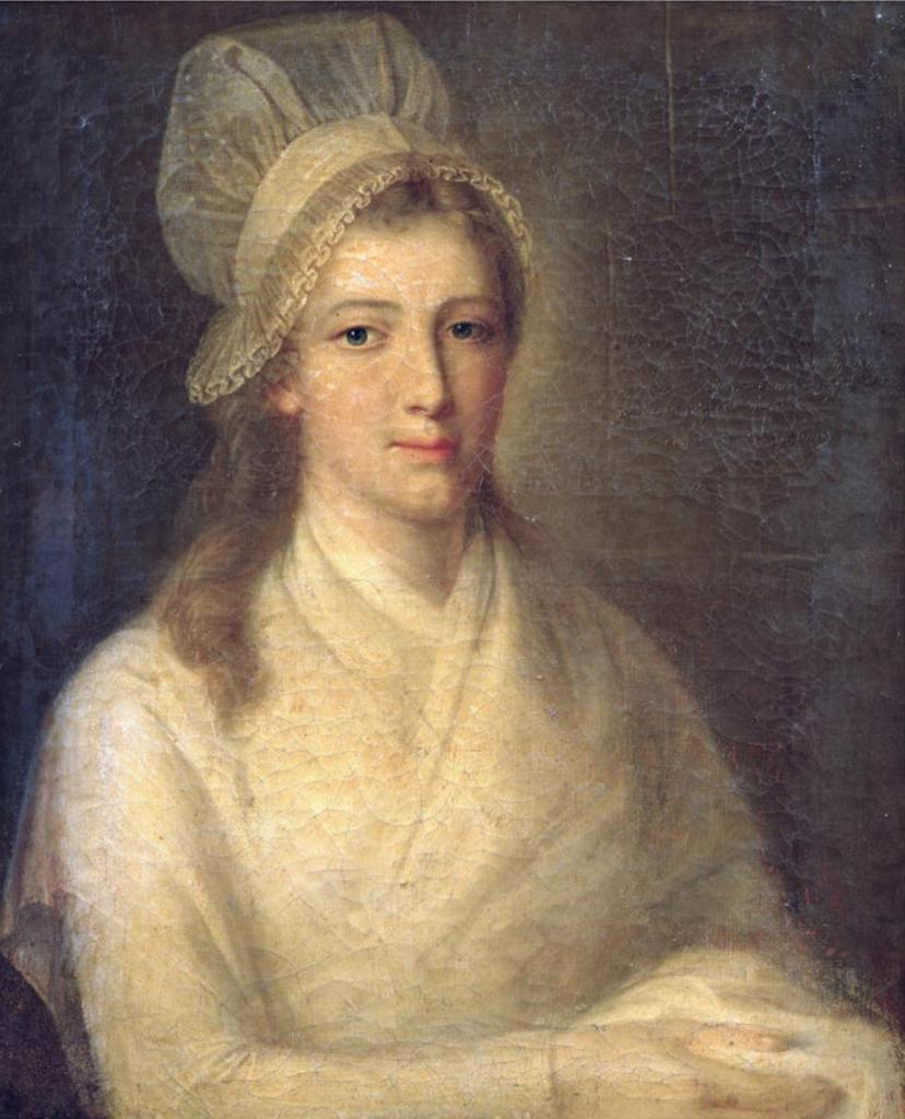 Charlotte Corday, Жан-Жак Гауер, 1793 ©wikimedia