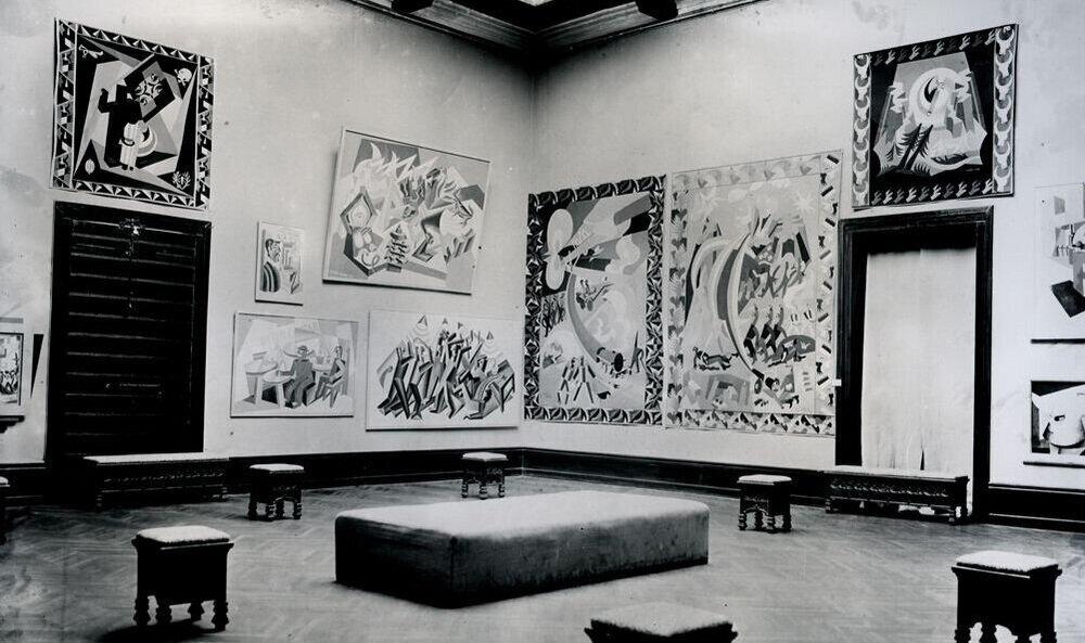 «Італійський футуризм» в павільйоні СРСР, 1926. Фото: ASAC