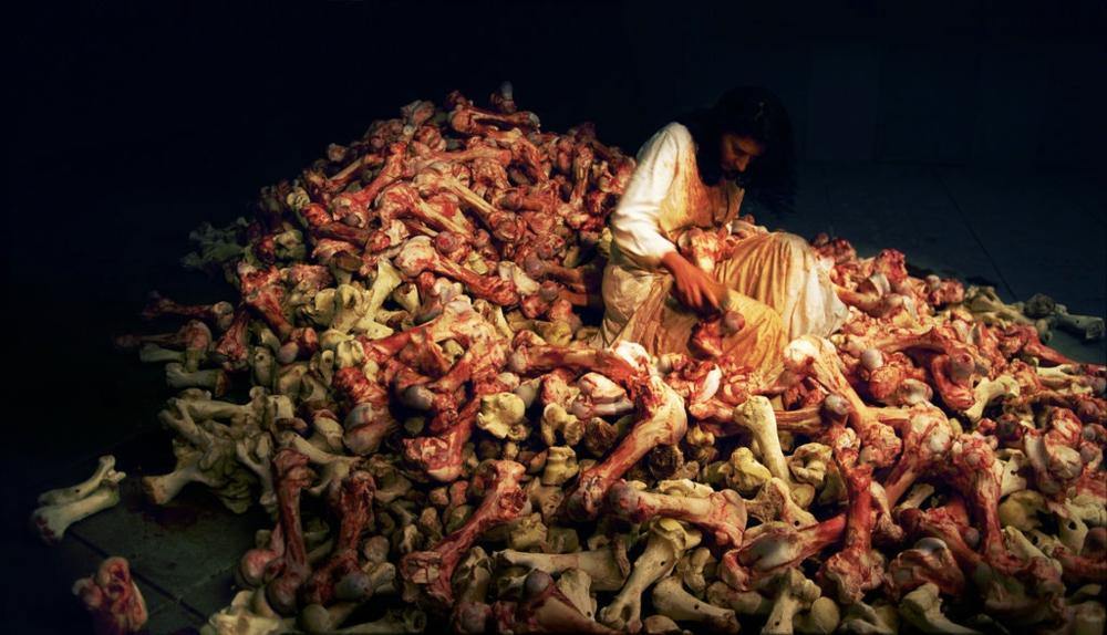 «Балканське барокко», Марина Абрамович, 1997 © apostrophe