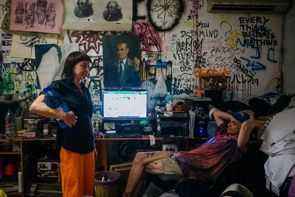 Жанна Кадирова та Руслан Дудовський. Фото: Сергій Моргунов