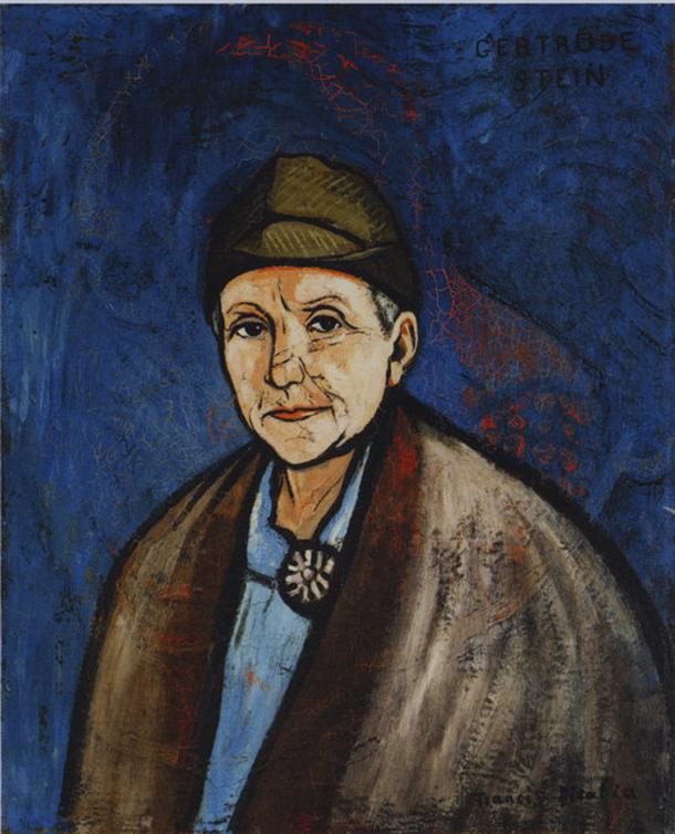 Франсіс Пікабіа. Портрет Ґертруди Стайн, 1937
