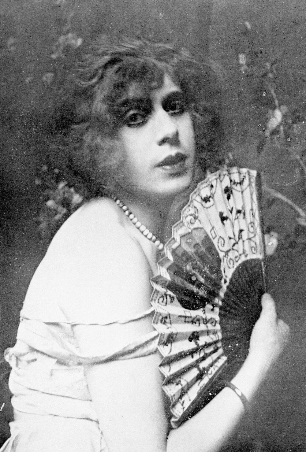 Перша жінка-трансгендер Лілі Ельбе. Фото з відкритих джерел