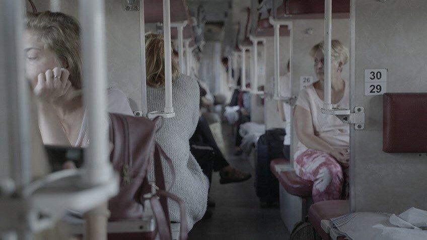 """Кадр із фільму «Поїзд """"Київ—Війна""""», реж. Корній Грицюк, 2020"""
