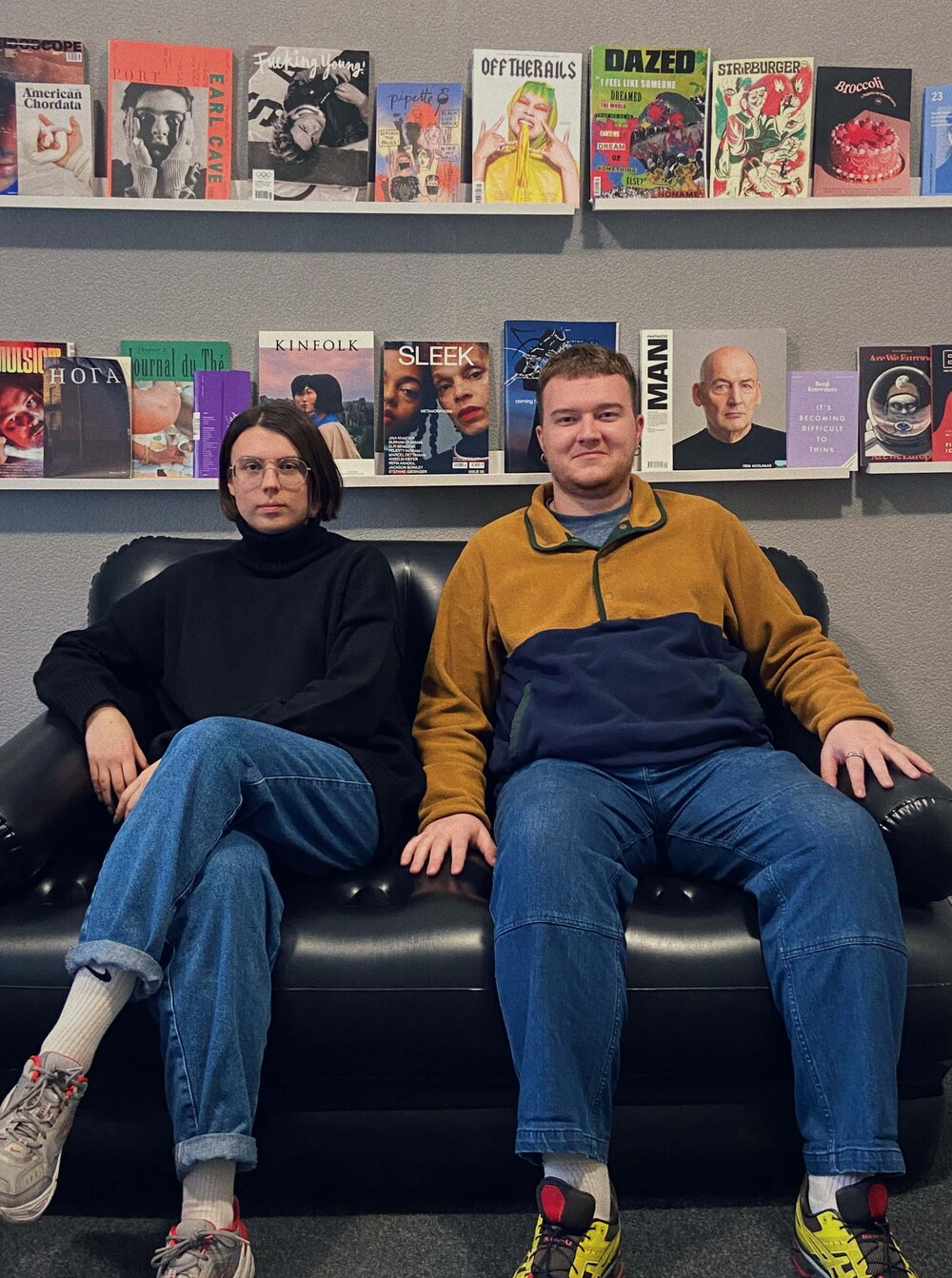 Марія Д'якова та Георгій Виграновський. Фото надані Readellion