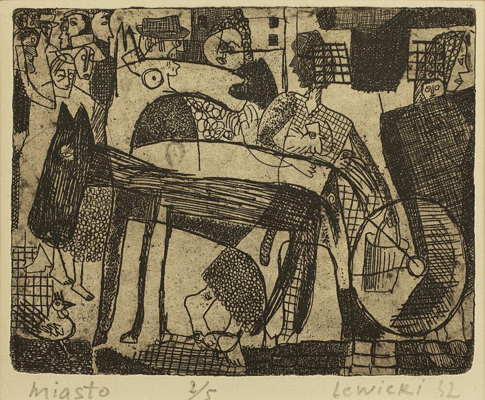 Леопольд Левицький. Місто. 1932.  http://archive-uu.com/ua/profiles/levic-kij-leopol-d