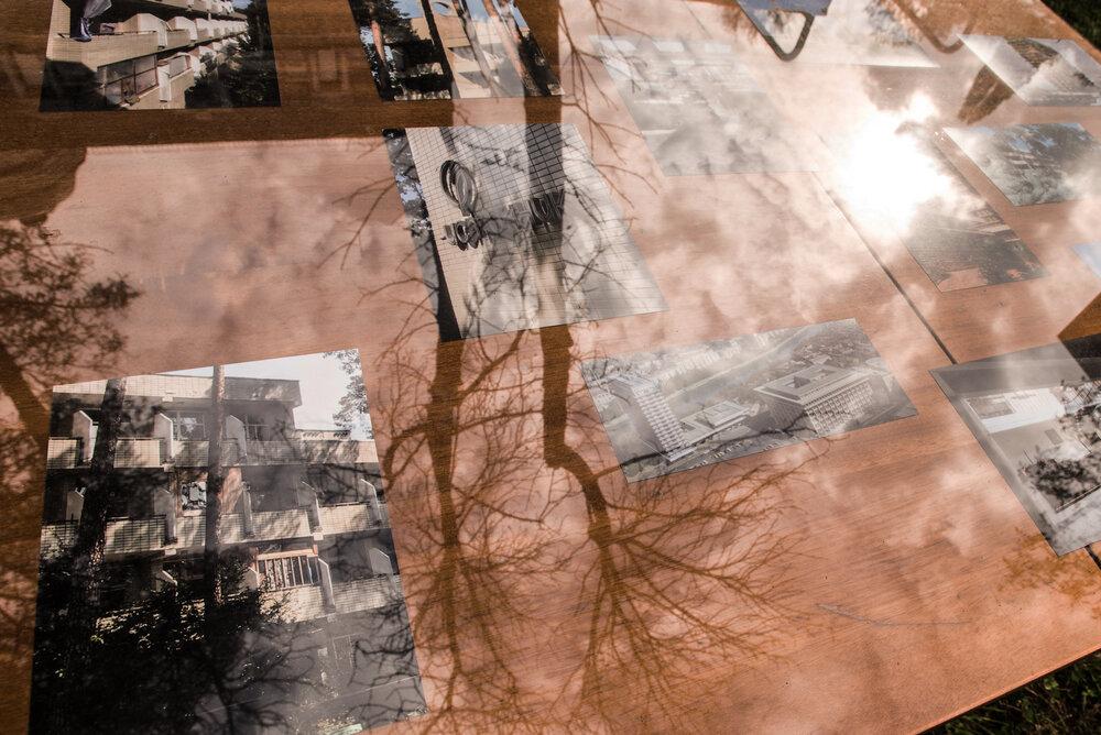 З проєкту The hotel, the sanatorium, the pension & their refugee`s rooms в NAMU, 2020. Фото: Наталка Дяченко