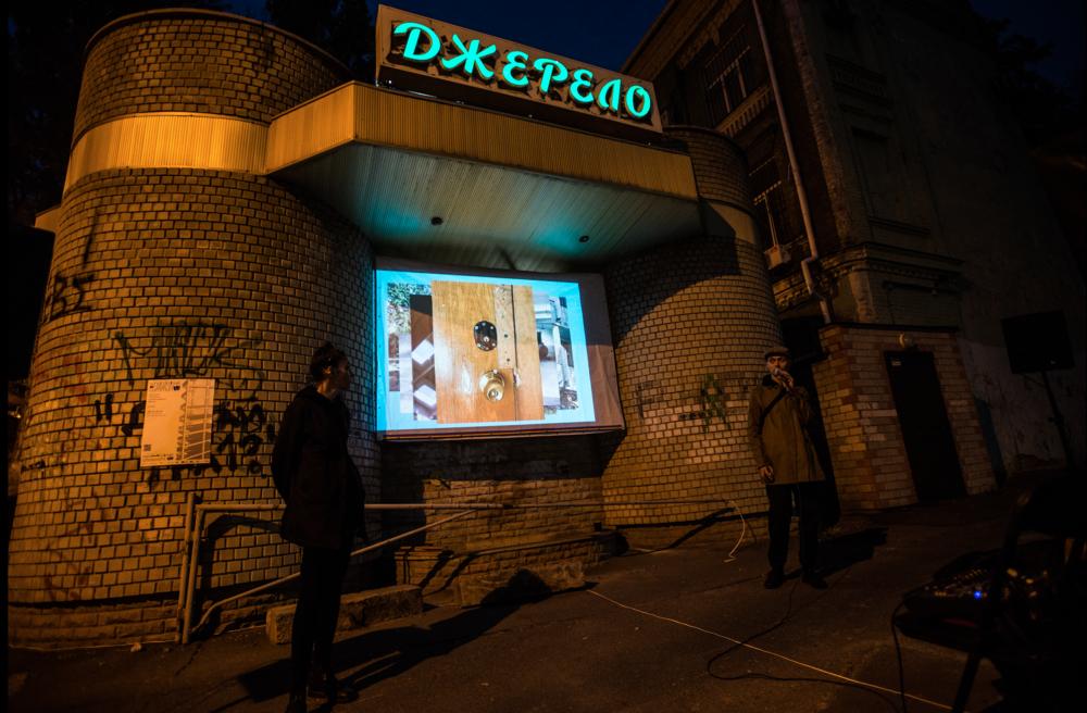 Богдана Косміна презентує проєкт «Джерело». Фото: Наталка Дяченко