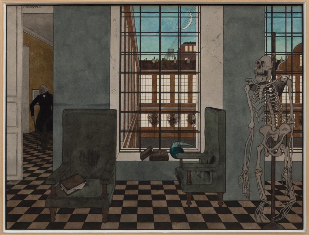 Кімната жаху (Кабінет ученого), 1909