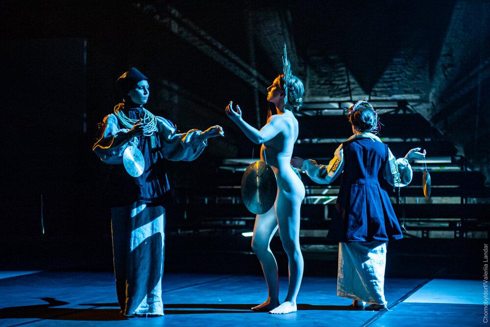 Chornobyldorf. Archaeological opera. Мистецький Арсенал, 2020. Фото Валерії Ландар