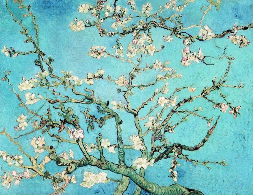 «Квіти мигдалю», Ван Гог. Світлина artrue