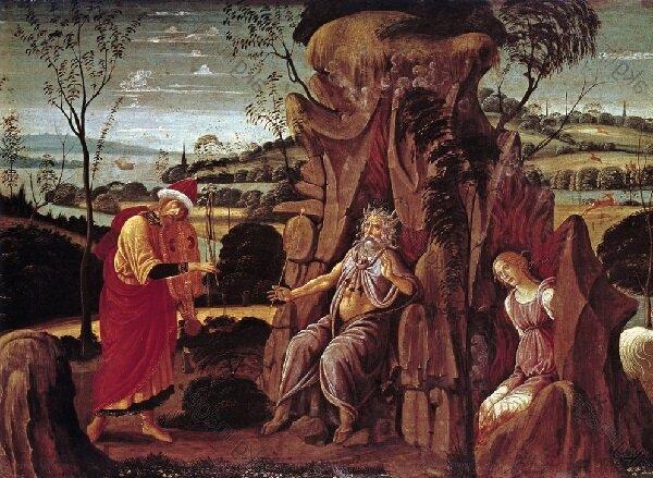 Якопо дель Селлайо, Орфей в підземному царстві. З колекції Музею Ханенків