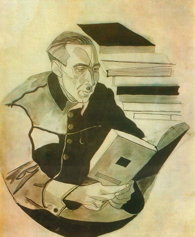 Портрет Івана Дніпровського. 1929. Колекція NAMU