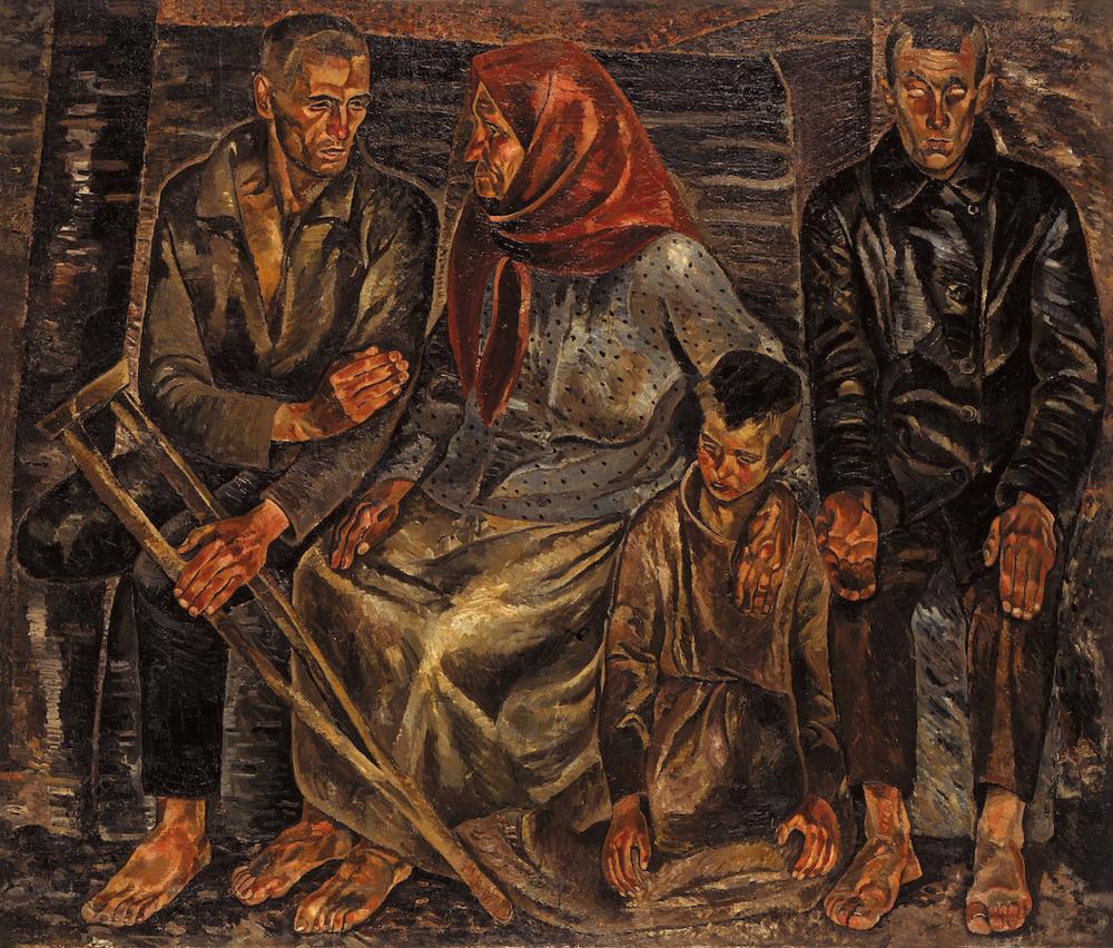 Інваліди. 1924. Колекція NAMU