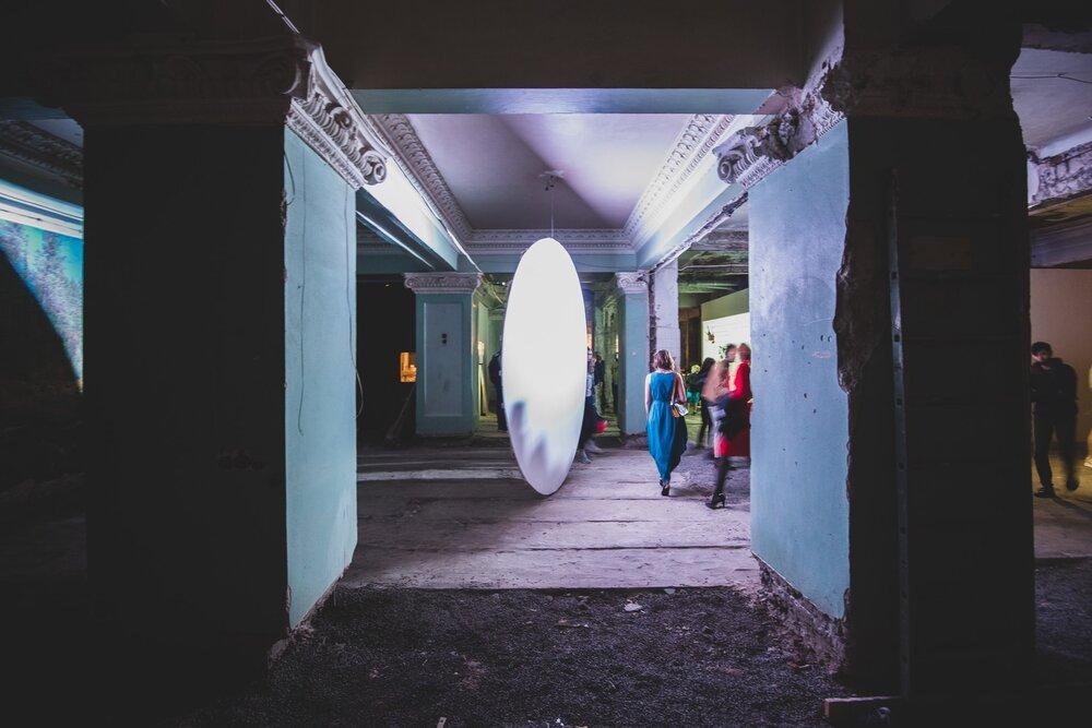 Еекспозиція в готелі «Харків». Світлина: Андрій Яригін