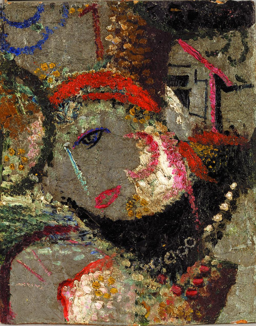 Циганка. 1919-1920. Колекція NAMU