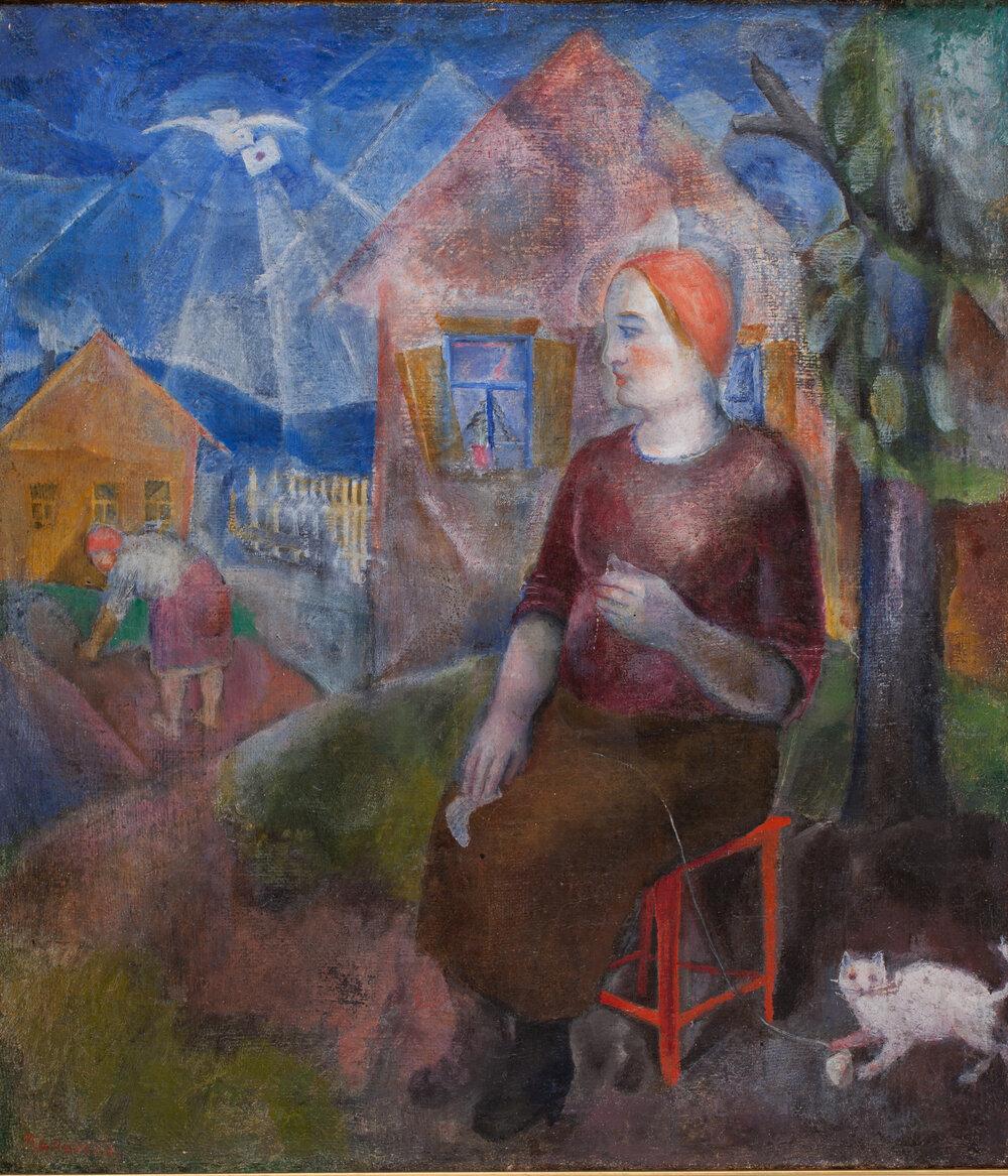 Жінка. 1927. Колекція NAMU