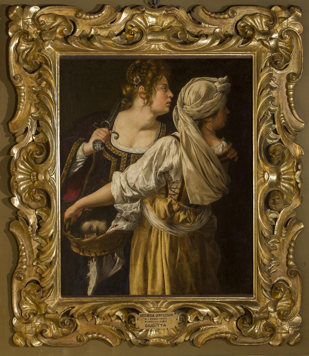 Judith and Her Maidservant,. 1615–1617. ©GABINETTO FOTOGRAFICO DELLE GALLERIE DEGLI UFFIZI
