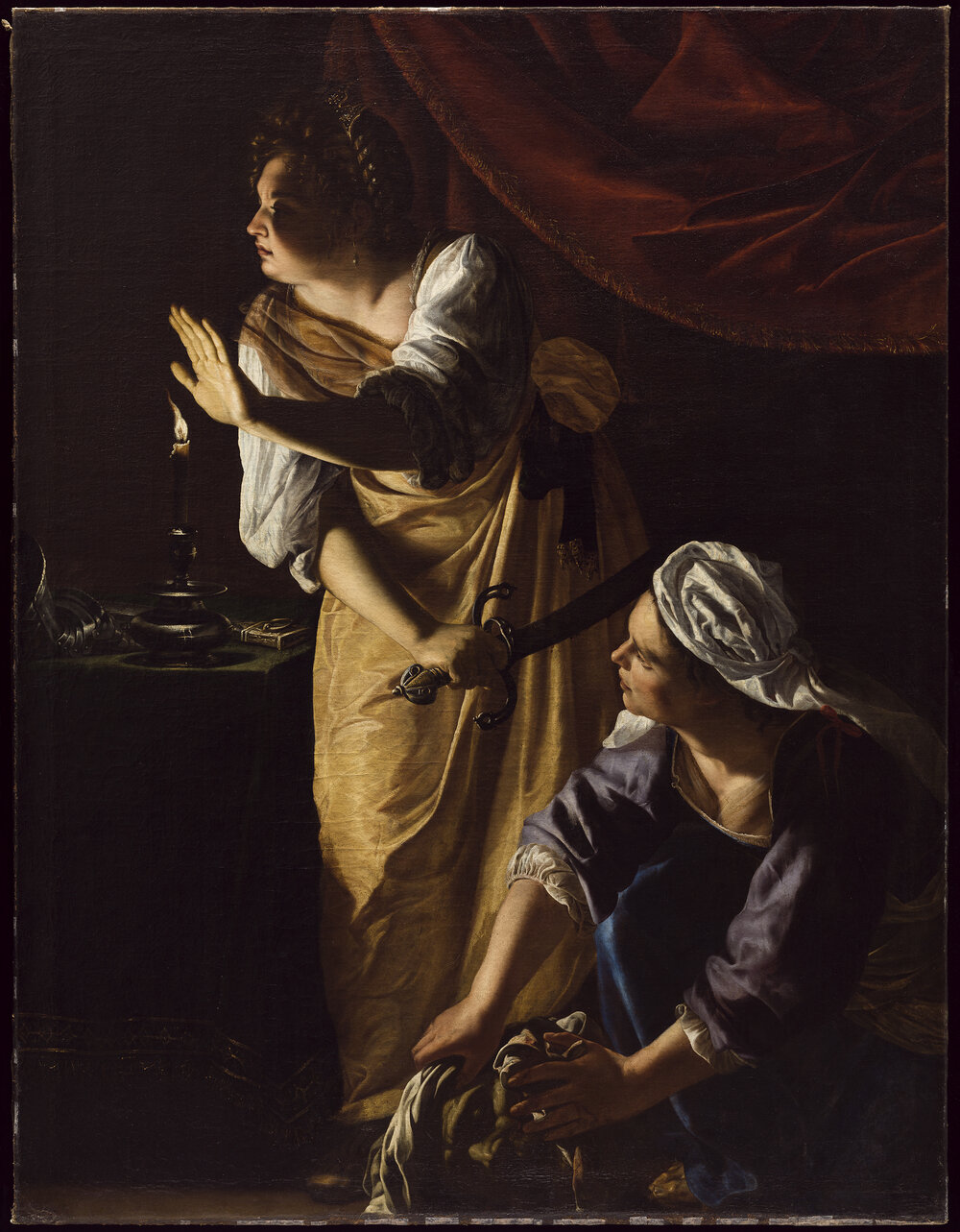 Judith and her Maidservant, 1623–1625. ©THE DETROIT INSTITUTE OF ARTS