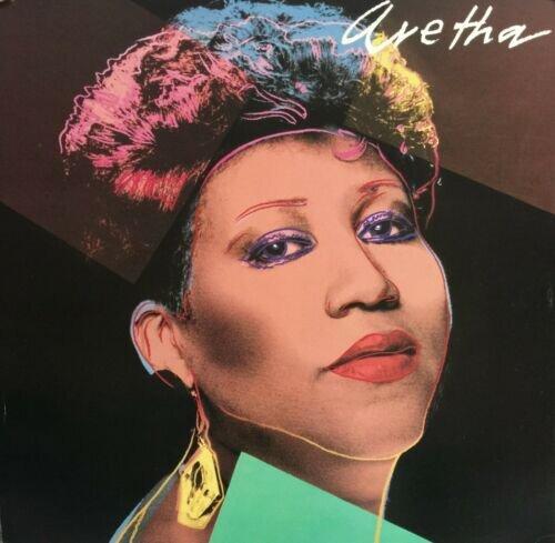 Енді Ворхол, Aretha Franklin, альбом Aretha, 1986