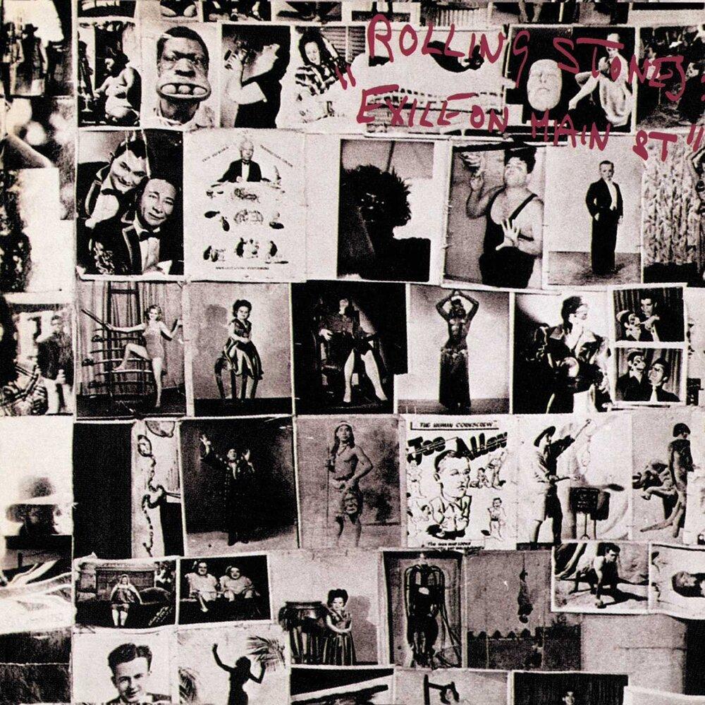 Роберт Франк, Rolling Stones, альбом Exile on Main Street, 1972