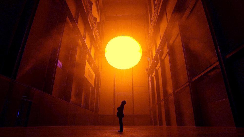Олафур Еліассон в галереї Tate. Фото:  styleinsider