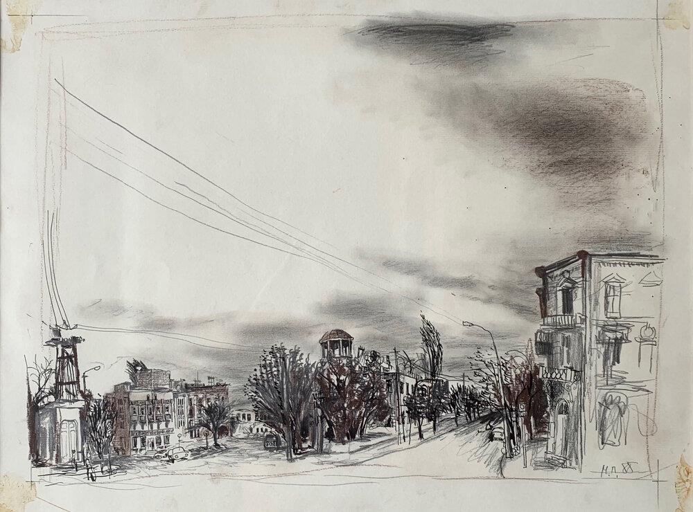 Павло Маков, «Без назви», 1988