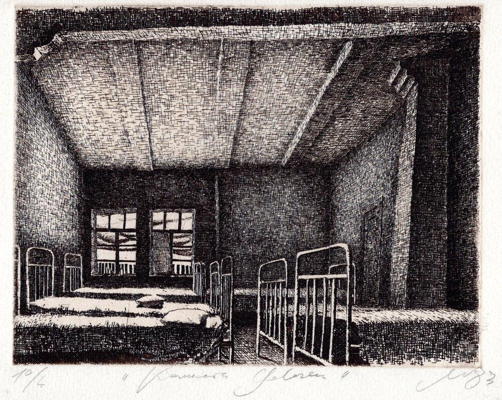Павло Маков, «Кімната дівчат», 1983