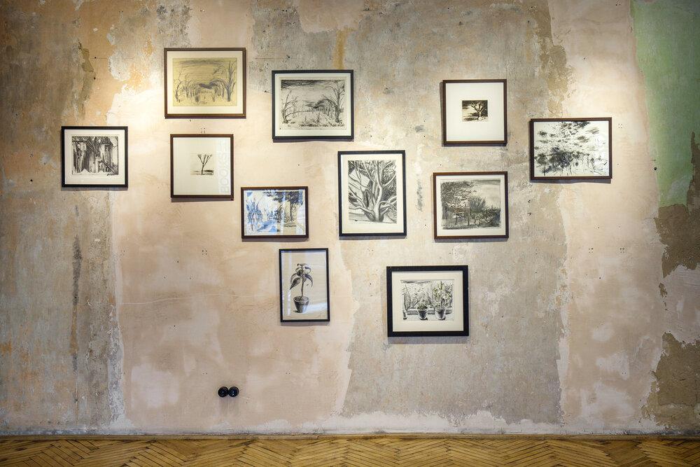 Експозиція виставки «Безна» у The Naked Room