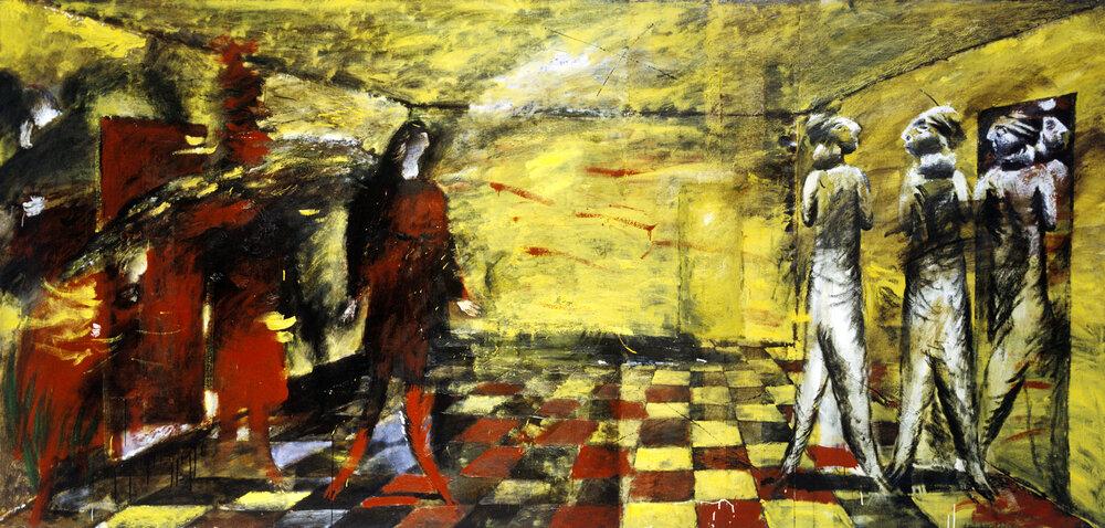 «Жовта кімната», 1989