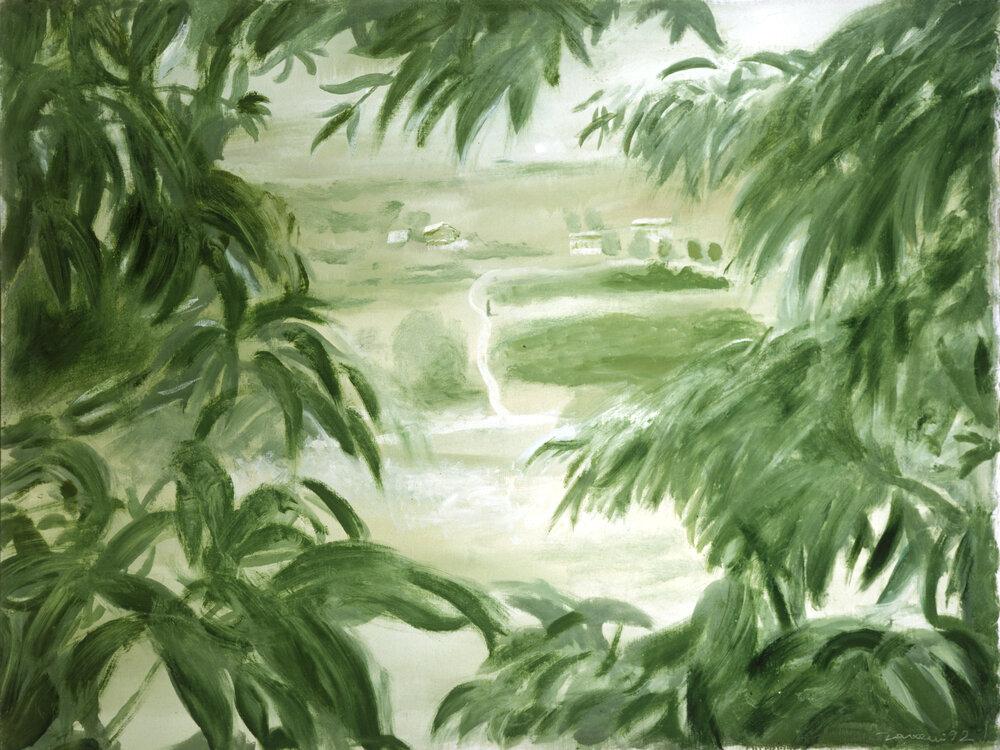 «Крізь листя», 1992