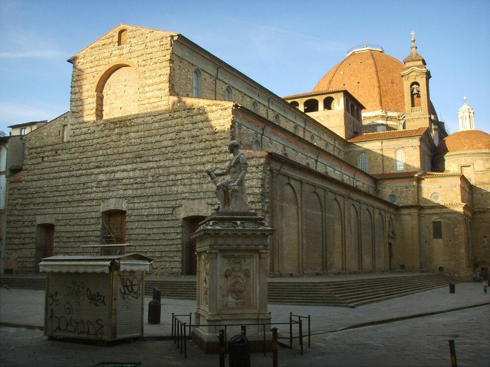 Філіппо Брунеллескі, базиліка Сан-Лоренцо,1424–1446, (Флоренція, Італія), фотокредит: сайт міста Флоренція