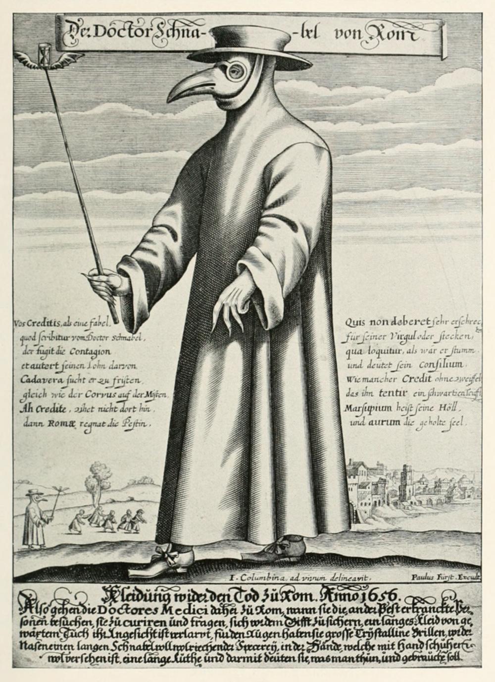 Пауль Фюрст, гравюра, 1656