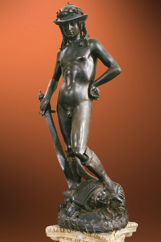 Донателло, «Давид», приблизно 1440, Національний музей Барджелло, (Флоренція, Італія)