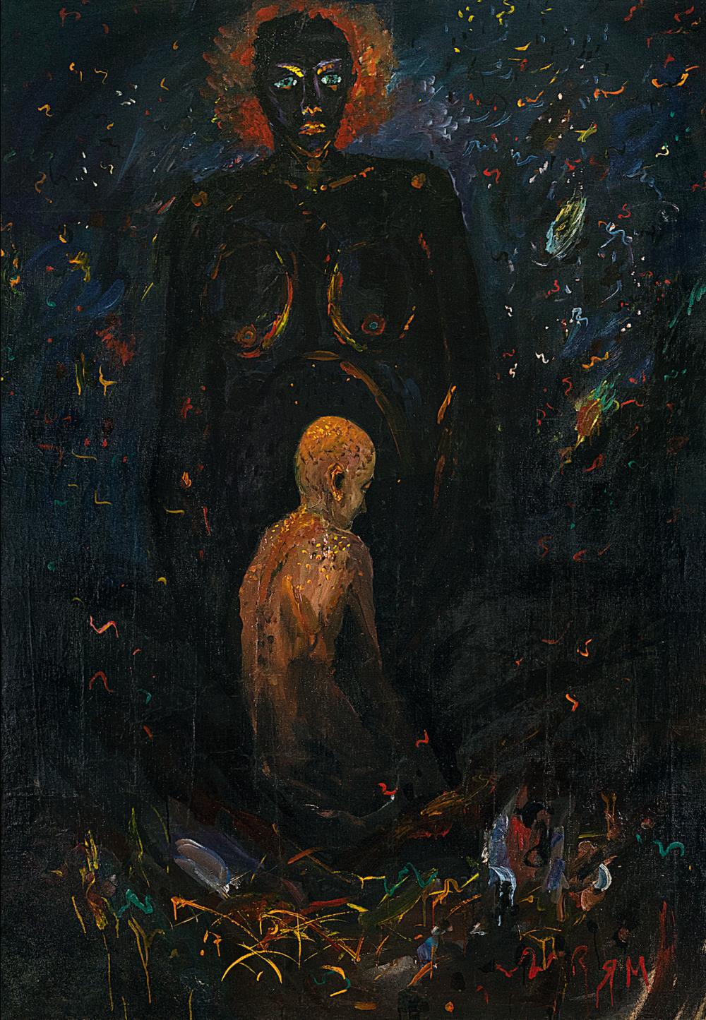 «Чорна Мадонна», 1988–1989. Приватна колекція Олександра Говядіна