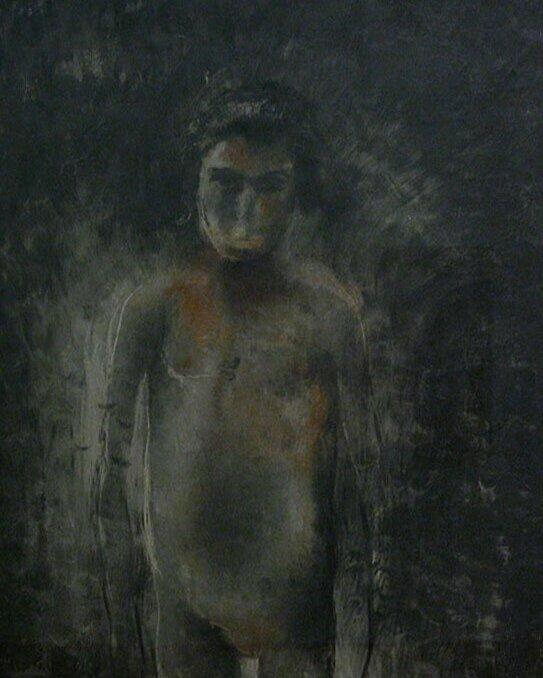 Жан Фотрие, «Обнаженная во тьме», 1926