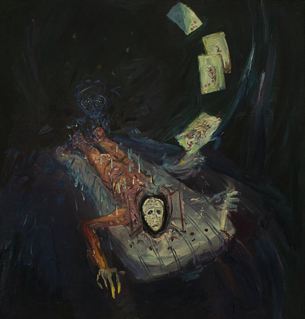 Мирослав Ягода, «Отдых. Окончательная игра слова», конец 1980-х